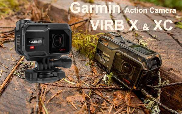 New Action Cameras Garmin VIRB X and VIRB XE