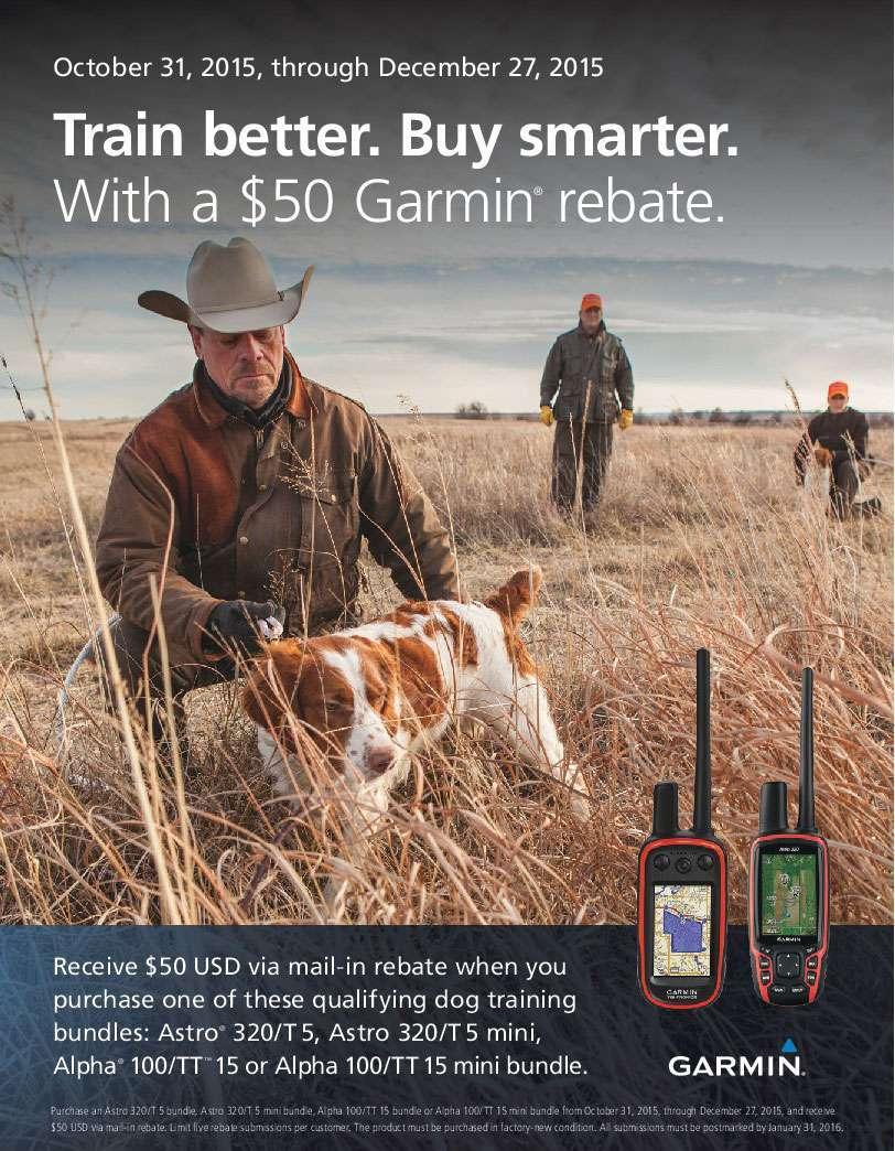 Rebate Offer: Garmin Tracking - Training Bundles