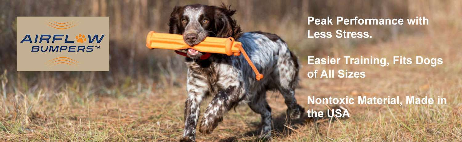 Airflow Dog Bumpers New Design Gun Dog Outfitter
