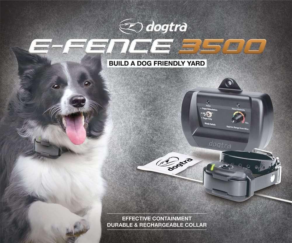 Dogtra eFence 3500 System | gun dog outfitter | gundogoutfitter.com