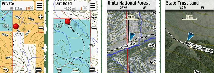 Garmin HuntView GPS Maps | gun dog outfitters | gundogoutfitter.com