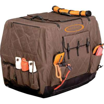Mud River Insulated Kennel Cover | gun dog outfitter | gundogoutfitter.com