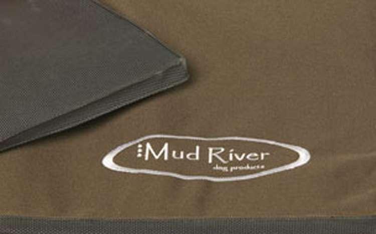 Mud River Dog Crate Cushion   gun dog outfitters   gundogoutfitter.com