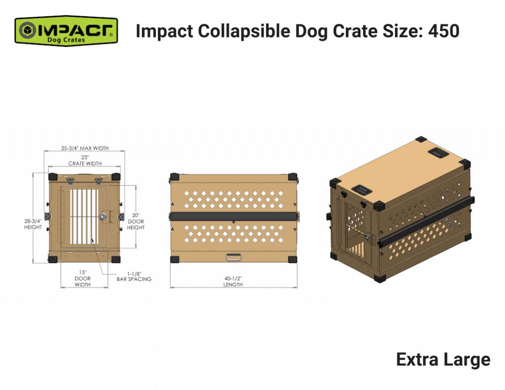 Impact Crate Extra Large|gun dog outfitter|gundogoutfitter.com