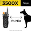 Dogtra 3500X1.5 mile range