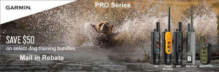 March REBATE Garmin Tri Tronics PRO Series