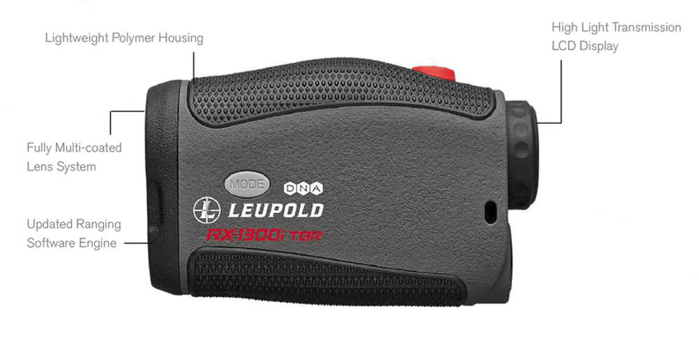 Leupold RX-1300i TBR Rangefinder gets the job done, is adaptable and dependable in all situations.