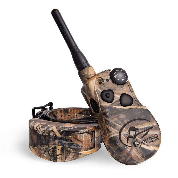 SportDOG SD-1825X Camo Wetland Hunter is designed for the waterfowl-hunting environment, where space is a premium and durability is a requirement.
